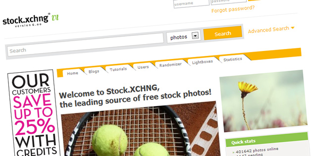 Free stock photo websites - Stock xchang